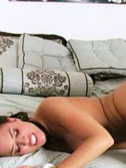 Alexis Texas and Eva Angelina pleasure each other in bed
