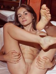 """Brunette hottie Tais gives you her tight pussy in """"Enigmatic"""""""
