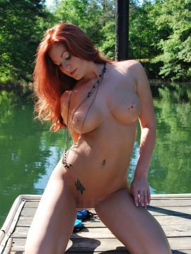 Avery Ray On the Dock