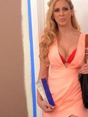 Cherie Deville is having some rennovations done and decides to fuck her contractor