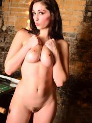 Pictures of Carlotta Champagne getting naked at the college bar