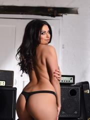 Charlotte Springer is a sexy rocker who wants to strip in the band room