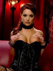 Hot girl Jayden Cole will be your sexy Victorian mistress for the night