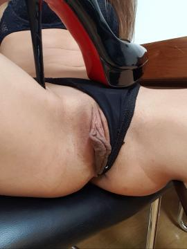 Dominika C Shows Pussy in Lingerie