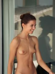 Beautiful girl Altea B does some nude cleaning Criada