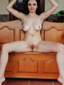 maible-met-art spreading-legs nude pussy big-tits brunette