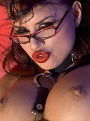 Pictures of Eva Angelina all punked out and horny