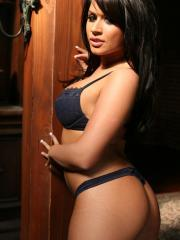 Pictures of Eva Angelina posing for the camera