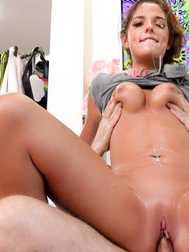 Scarlett Mae fucked rough and hard