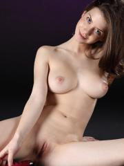 Pictures of Danica showing her hot naked body samurai style