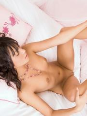 Pictures of brunette girl Sabella waiting for you in lace