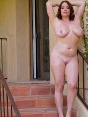 """Busty hottie Maggie Green gets slippery for you in """"Oiling The Girls"""""""