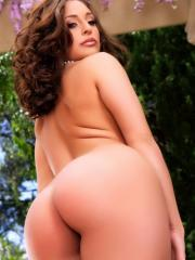 Pictures of Gracie Glam dressed up to give you a naughty tease outside