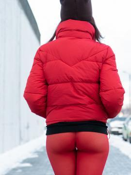Jeny Smith teases in winter outfit