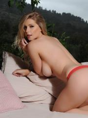 Jess Davies teases in her cute pink lingerie
