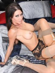 Jessica Jaymes has some lesbian fun time with her friend Nikki Benz