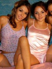 Pictures of 3 hot teens getting naughty