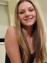 Pictures of teen Josie Model waiting for you in bed