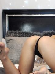 Kali Rose is all sexed up for you in her black bra and panties