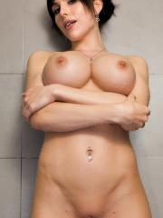 Busty hottie Katie Banks invites you to join her for a hot shower