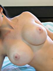 Beautiful girl Kayla Kiss shows you her pink parts