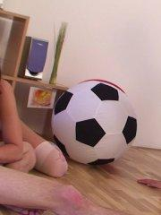 Pictures of teen girl Little Caprice getting fucked after a game