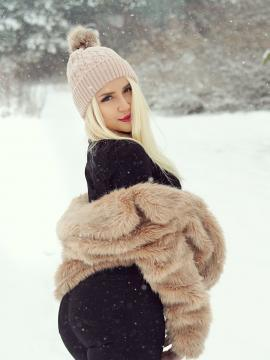 snow blonde maya-chriss outdoors non-nude
