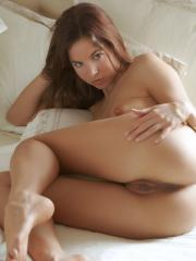 Altea B gives you her tight pussy in bed
