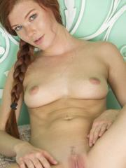 """Redhead hottie Mia Sollis gets naked for you in """"Rodena"""""""