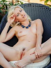 """Blonde babe Janelle B gives you her tight pussy outside in """"Ynabae"""""""