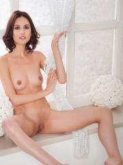 Sade Mare shows off her long legs and tight body in Nozata