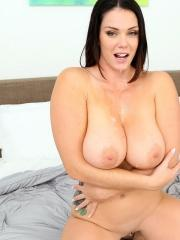 Busty babe Alison Tyler gets fucked after a bath