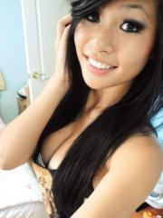 Asian babe shares some sexy home pics