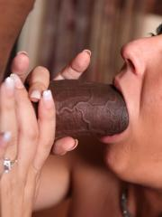 Hot coed Kylie Kalvetti gets fucked hard by a huge black cock