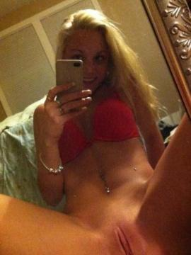 Collection of hot college coeds nude selfpics