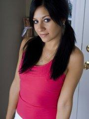 Pictures of teen Raven Riley spreading her legs