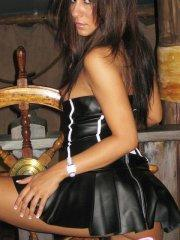 Pictures of teen hottie Raven Riley dressed up for some very hot sex