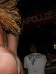 Hot college girls get naughty at a night club