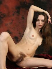 "Brunette girl Iris shows you her nude body in ""Raudooda"""
