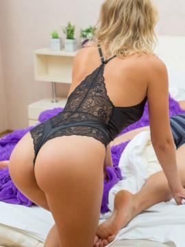 "Blonde babe Casey gives up hot pussy in ""Coupled"""