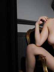 Summer St Claire exposes her beautiful breasts just for you