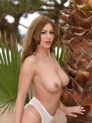 Sexy pinup girl Summer St Claire gets naughty for you outdoors