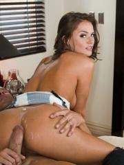 Pictures of Tori Black getting a hard fuck at home
