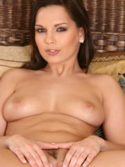 Pictures of Eve Angel spending a horny moment all alone